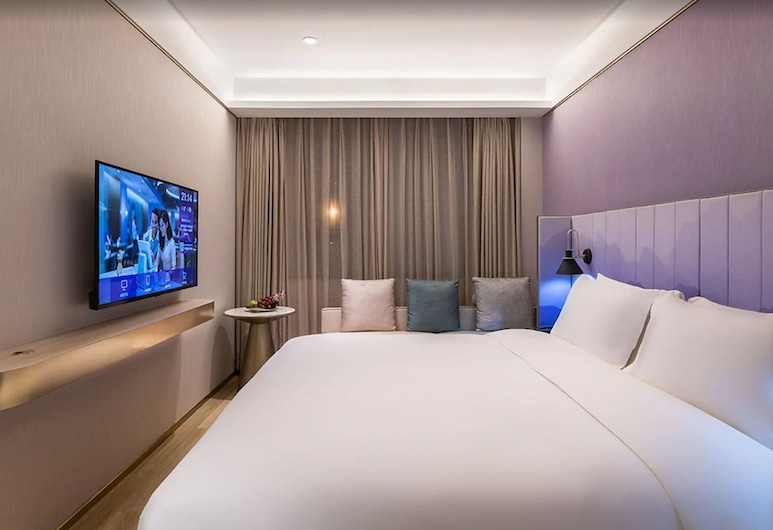 漫心北京和平門地鐵站酒店, 北京市, 心怡大床房, 客房