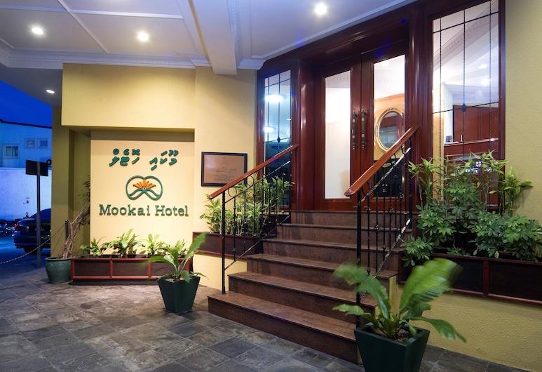 Mookai Hotel, Malé, Hoteleingang