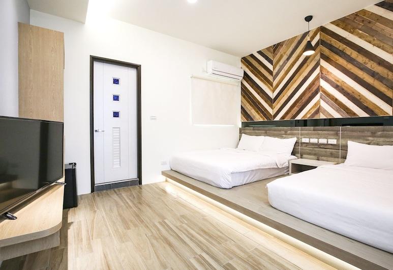 Amethyst Bay 2, Magong, Standard Quadruple Room, Guest Room
