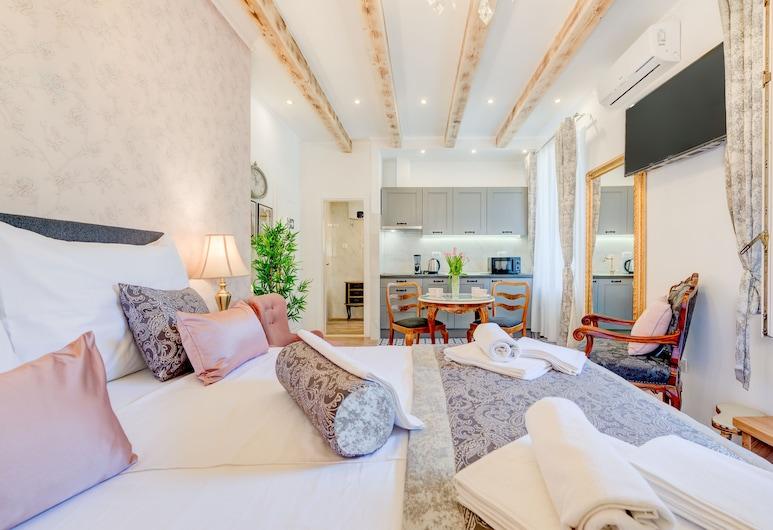Le Monde Luxury Accommodation, Split, Royal studio apartman, pogled na vrt, Soba za goste