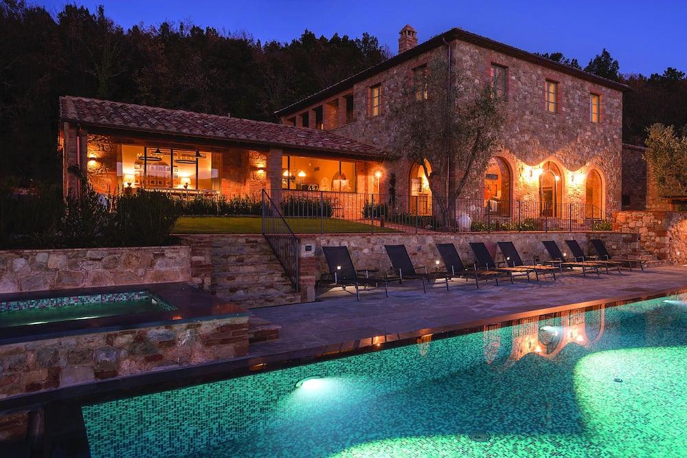 Maison, 4 chambres (Casale San Damiano) - Piscine privée