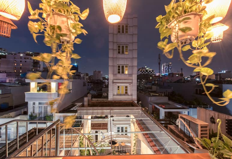 The Like Hostel & Cafe, Ho Chi Minh City, Terrace/Patio