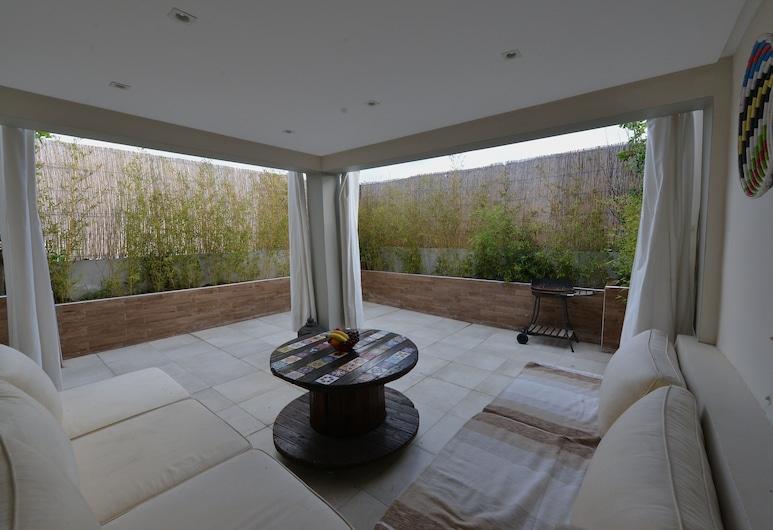 Appart'Hotel Mogador Casablanca, Casablanca, Családi penthouse, Terasz/udvar