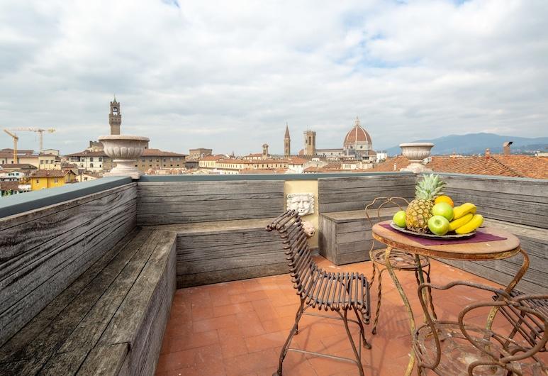 Luxury Panoramic Terrace, פירנצה, דירת יוקרה, 3 חדרי שינה, נוף לעיר, מרפסת/פטיו