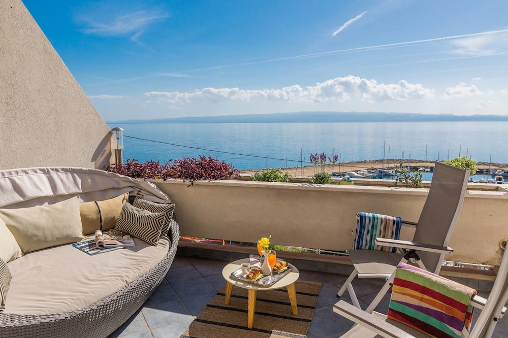 Obiteljski apartman, pogled na more - Balkon