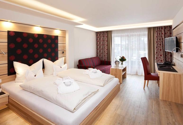 Hotel Filser, Oberstdorf, Executive tweepersoonskamer, uitzicht op bergen, Kamer