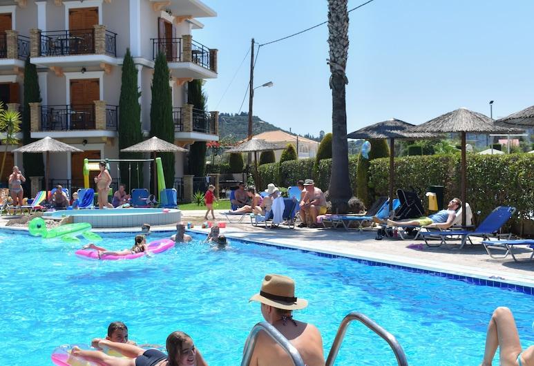 Katsaros Deluxe Apartments II, Zakynthos, Basen