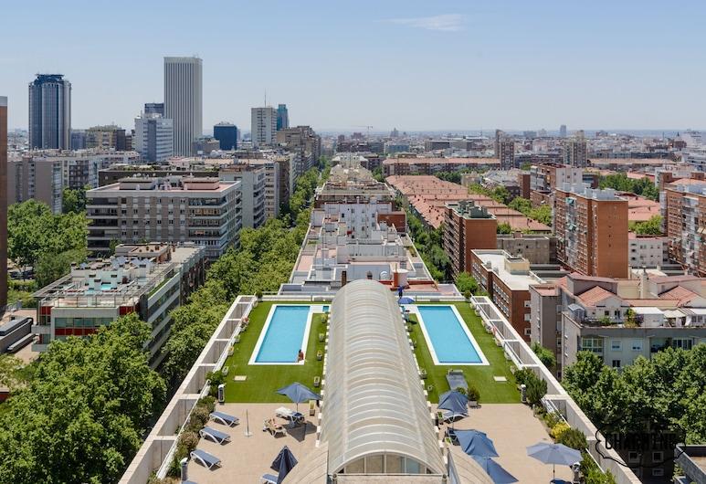 Charming Eurobuilding 2 Luxury, Madrid, Piscina Exterior