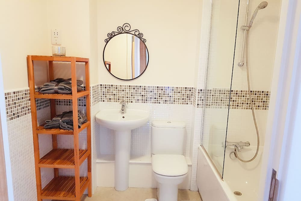 Comfort Apartment, 1 Double Bed, City View - Bathroom
