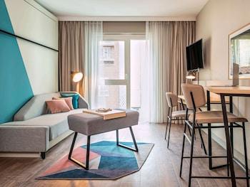 里爾大宮殿里爾中央阿德吉奧公寓酒店的圖片