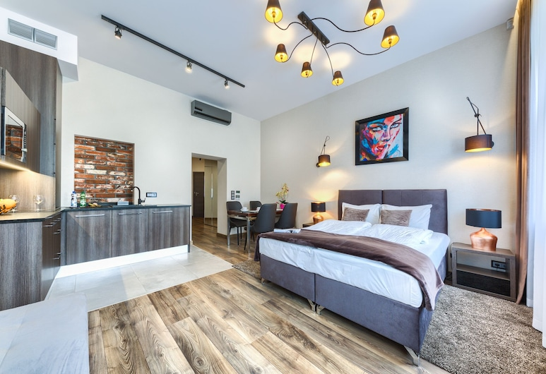 Abba Apartments, Wroclaw, Superior Apartment, Living Area