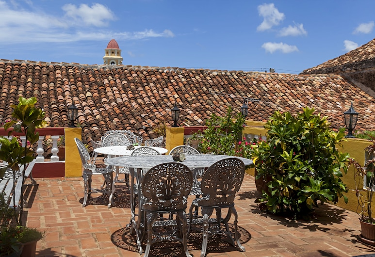 Hostal Casa Sueca Anita, טרינידד, מרפסת/פטיו