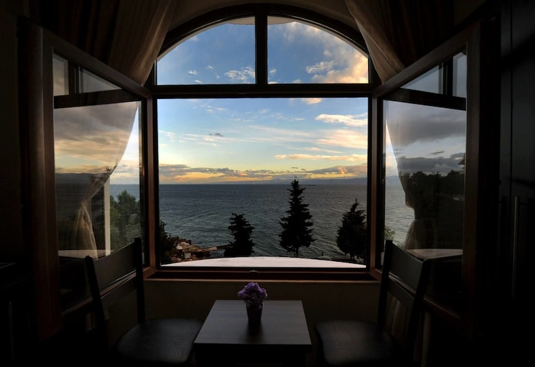 Andac Otel, Sinop, Štandardná dvojlôžková izba, výhľad na more, Výhľad z hosťovskej izby