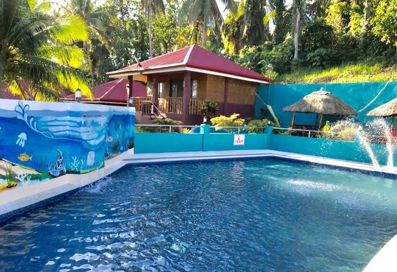 Juvies Resort Hotel and Restaurant, Catbalogan City, Pool Waterfall