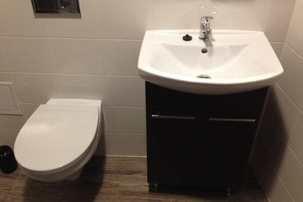 Vienvietis kambarys - Vonios kambario kriauklė