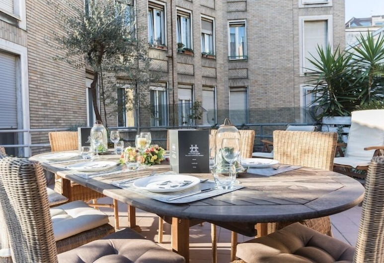 Hemeras Boutique House Aparthotel Duomo 1, Milan, Apartment, 2 Bedrooms, Terrace/Patio