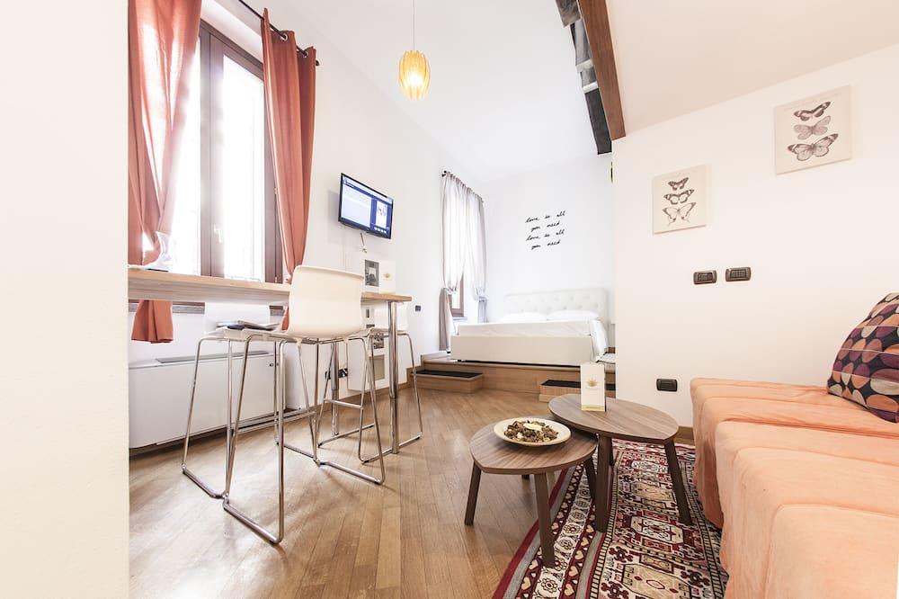 Dvoupodlažní apartmá (Torino I) - Obývací prostor
