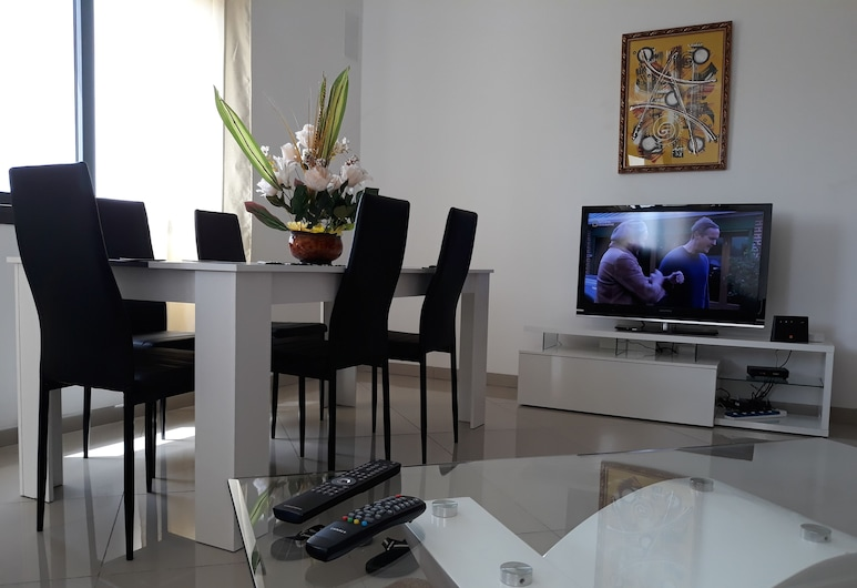 VDN 公寓酒店, 達卡, 高級公寓, 2 張標準雙人床 (VDN), 客廳
