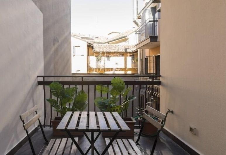 에메라스 부티크 하우스 아파트호텔 카스텔로, 밀라노, 아파트, 침실 1개 (II), 발코니