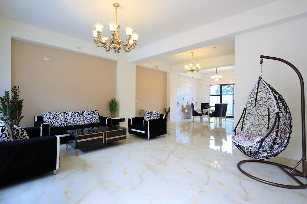 Habitación cuádruple, 2 camas Queen size - Sala de estar