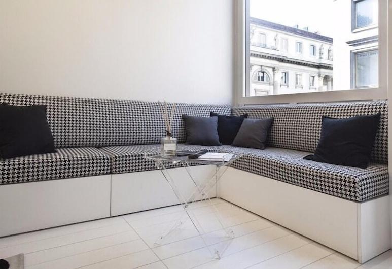 Hemeras Boutique House Aparthotel Duomo 11, Milaan, Appartement, 1 slaapkamer, Woonruimte