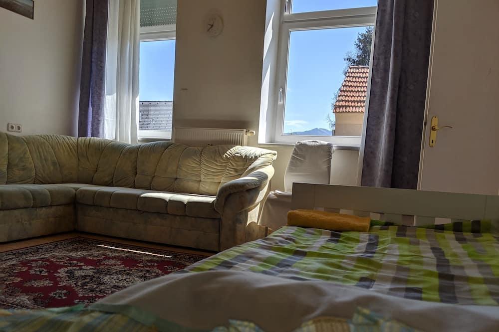 Apartemen, pemandangan kebun - Area Keluarga