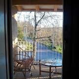 Pagerinto tipo dvivietis kambarys, 1 standartinė dvigulė lova, vaizdas į sodą (103 Rosal) - Terasa / vidinis kiemas