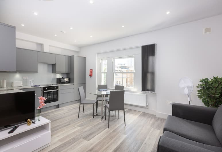 Z O Properties Harrow Road, Maida Vale, London, Luxury Apartment, 1 Bedroom, Living Area