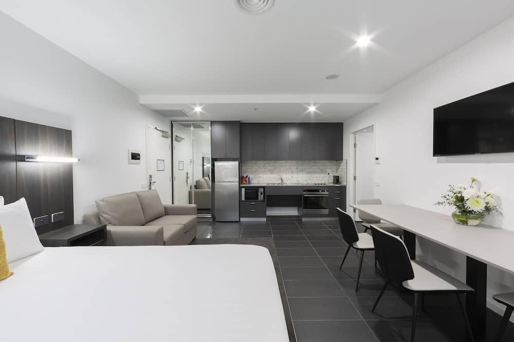 อพาร์ทเมนท์สำหรับครอบครัว, หลายเตียง - พื้นที่นั่งเล่น