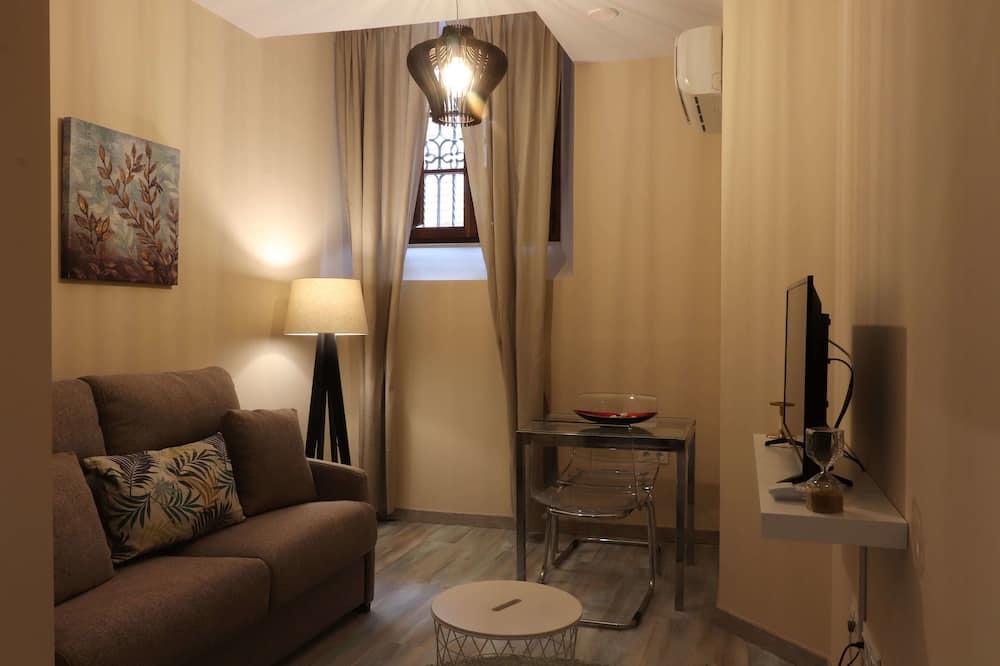 דירה, חדר שינה אחד, נוף לעיר (Apartamento B) - סלון