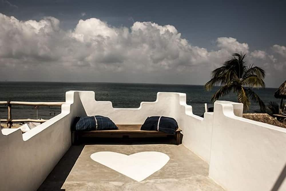 Panoramic Double or Twin Room, Multiple Beds, Non Smoking, Ocean View - Balcony View