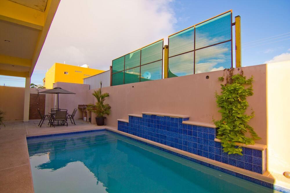 Domek, 3 ložnice - Venkovní bazén