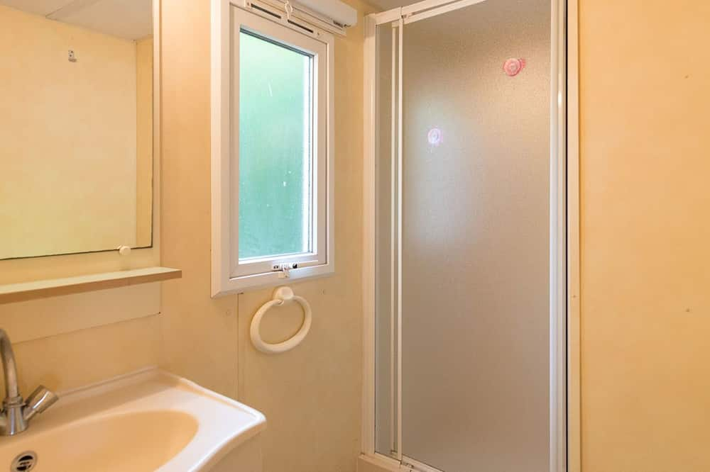 Mobile Home, 2 Bedrooms, Terrace (4 pers) - Bathroom