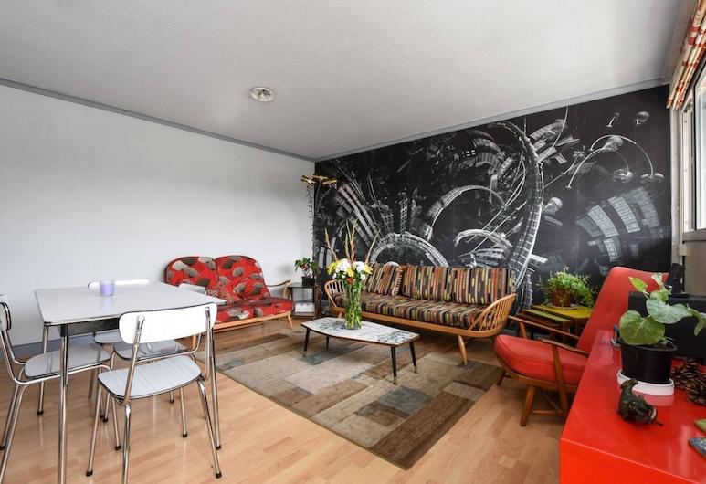 Retro Flat in Trendy Bethnal Green, Λονδίνο, Καθιστικό