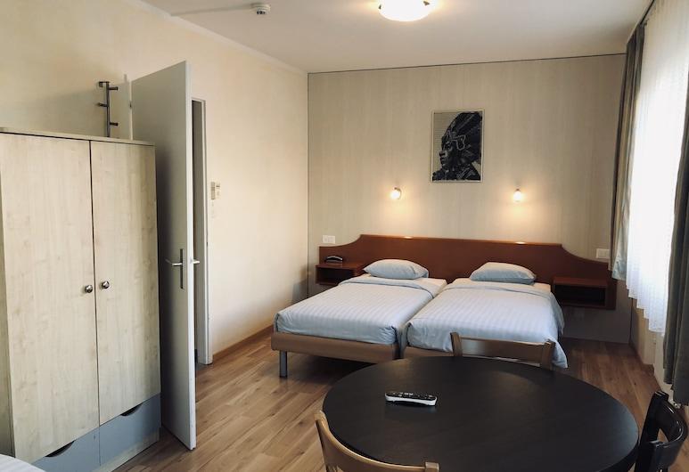 호텔 카르멘 SA, 제네바, 스탠다드 트리플룸, 전용 욕실, 객실
