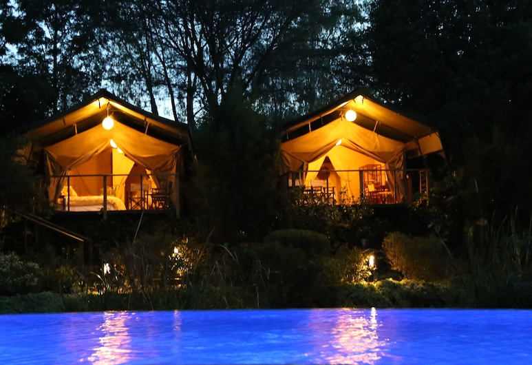 Wildebeest Eco Camp, Nairobi, Fachada do Hotel - Tarde/Noite