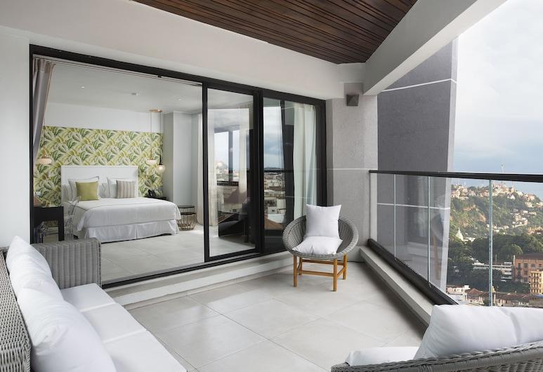 Le Centell Hotel & Spa, Antananarivo, Phòng Suite dành cho gia đình, Ban công