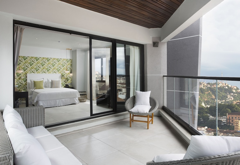 Le Centell Hotel & Spa, Antananarivo, Familien-Suite, Balkon