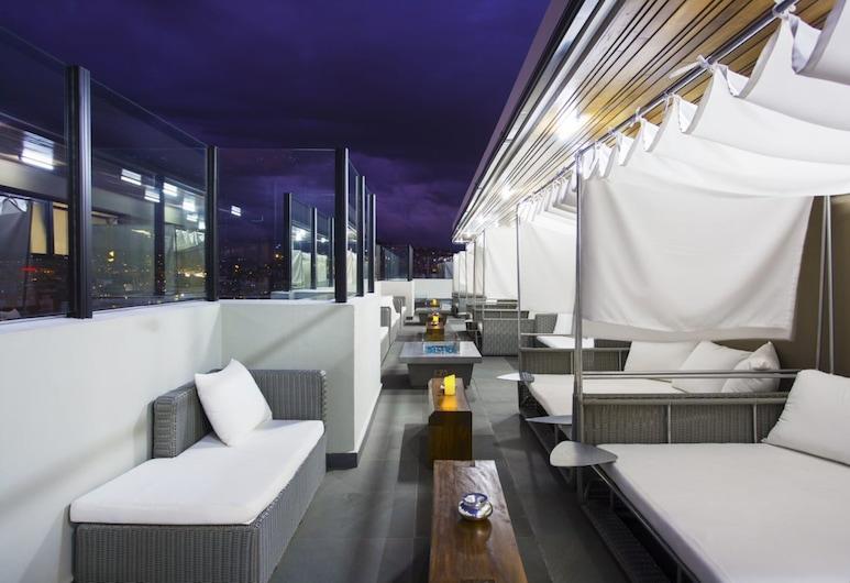 Le Centell Hotel & Spa, Antananarivo, Terraza o patio
