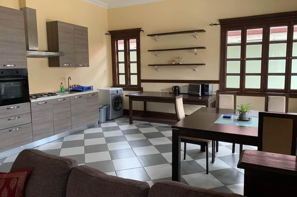 アパートメント 1 ベッドルーム (Flat 3) - リビング エリア
