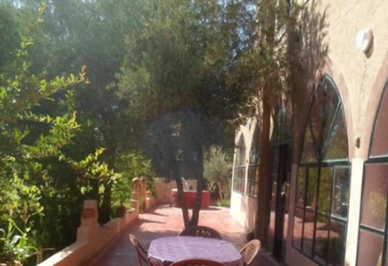 Chez Slimani, Skoura, Terase/iekšējais pagalms