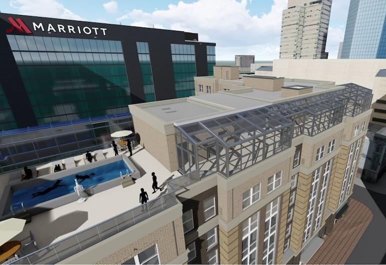 Lexington Marriott City Center, Лексінґтон, Басейн на даху