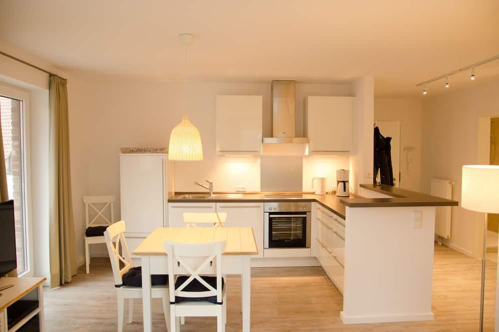 Apartment, Terrace (Steuerbord, incl. Cleaning Fee) - Tempat Makan dalam Bilik