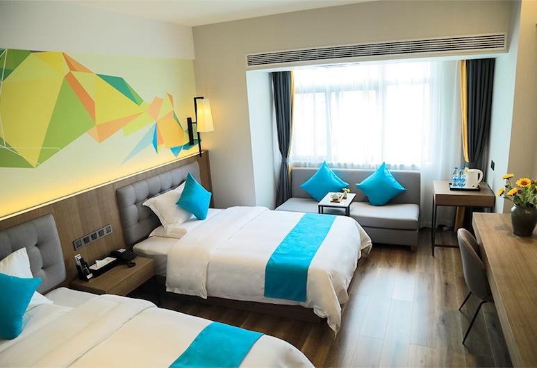 Seyearn Hotel Shuangliu Airport Wanda, Chengdu, Quarto Twin Standard, Quarto