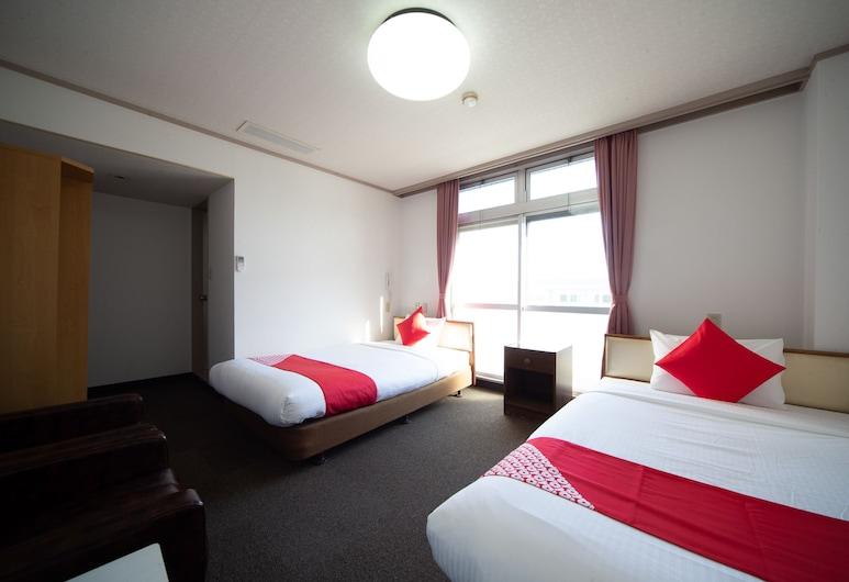 OYO Hotel Tsuru Sendai, Satsumasendai, Δίκλινο Δωμάτιο (Twin), Μη Καπνιστών, Δωμάτιο επισκεπτών