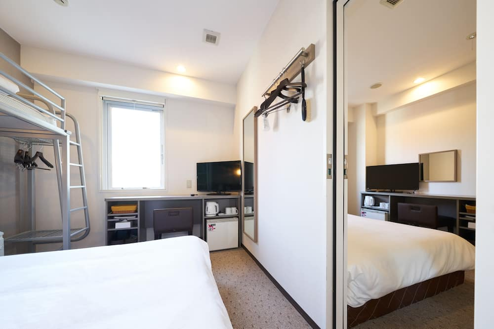 Connecting Double Room without cleaning service - Guest Room
