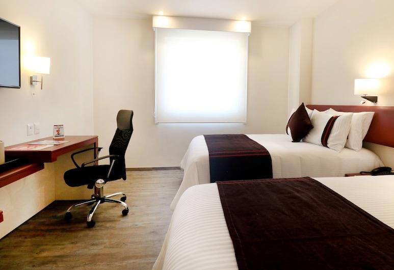 Misión Express San Juan del Río, San Juan del Río, Habitación, 2 camas dobles, Habitación