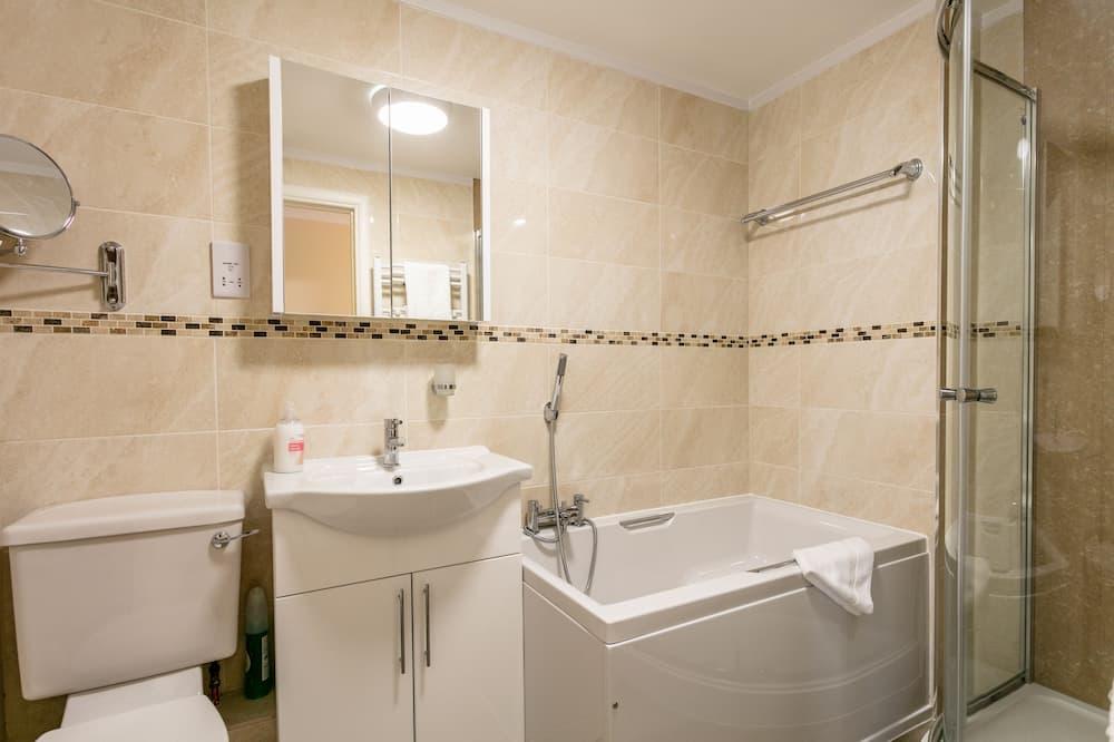 ラグジュアリー アパートメント 3 ベッドルーム シービュー - バスルーム