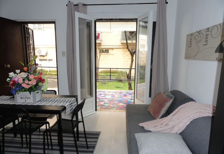 Tyche House Roma, Rome, Apartment, 1 Bedroom, Living Room