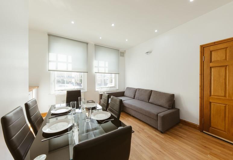 Regent Canal Apartments, London, Deluxe-Apartment, eigenes Bad, Kanalblick (Ground Floor), Lounge